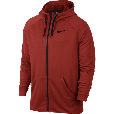 Nike Men's Dry Training Dri Fit Fleece Full Zip Sweat à Capuche Gym Sweat à capuche Haut à Capuche M | eBay