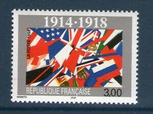 TIMBRE-3196-NEUF-XX-LUXE-1914-1918-80-EME-ANNIVERSAIRE-DE-L-039-ARMISTICE