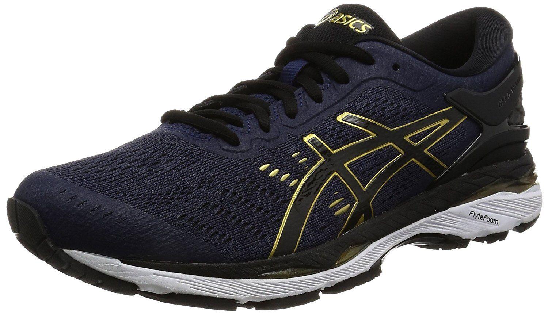 Zapatos De Entrenamiento Asics Gel-Kayano 24 TJG957 PEA Coat Negro US15 (32 Cm)