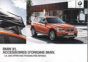 Bmw X1 Grand Catalogue Katalog Catalog Accessoires Dorigine Bmw