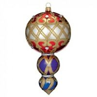 Waterford Holiday Heirlooms 7 Multi-tier Drop 2013 Opulence In Box 162987