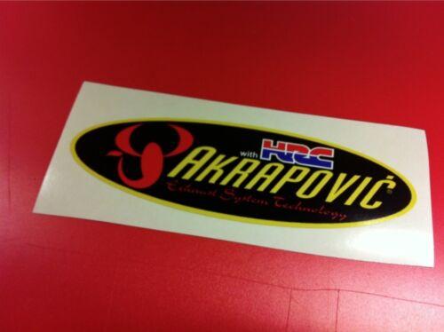 AKRAPOVIC HRC Adesivo resistente al calore 20 cm.