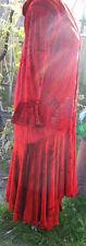 Ultimate VTG Blue Fish Velvet Christmas Outfit Zaki Coat Nethus Dress Leggings