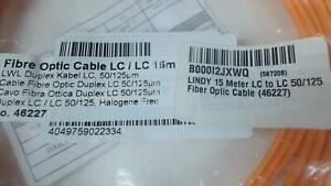 15m-LC-LC-Fiber-OPtic-Cable-Duplex-50-125-Orange