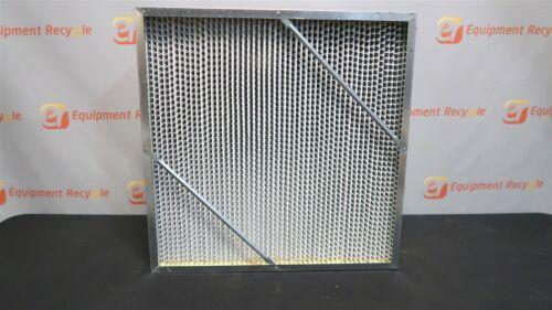 "Koch BioMax Galvanized H64M1X2 Air Filter 23.4/""X23.4/""X12/"" 99.97 Hepa Extended"