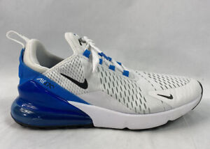 Nike Air Max 270 Ah8050 110 White Black Photo Blue Men S Us Size 9