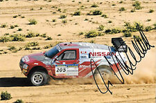 Ari Vatanen SIGNED, Nissan Pickup , Paris Daker Rally 2004