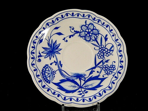 Triptis Porzellan Zwiebelmuster Untertasse 15 cm