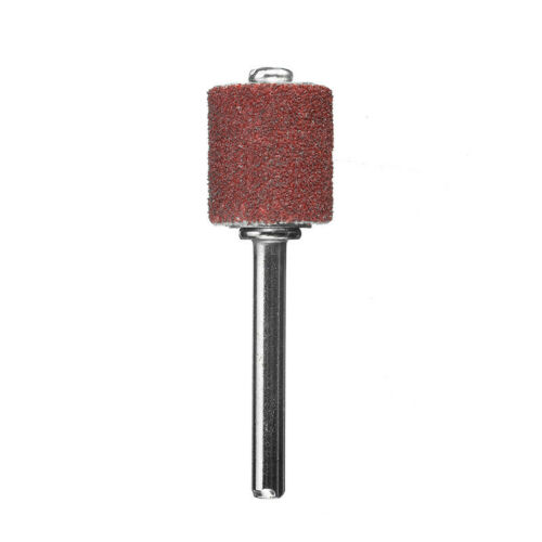 132 Pcs Sanding Band Drum Sleeve Set Mandrels Rotary Tool For Dremel 120 Grit