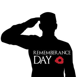 Details about Remembrance Day Army Soldier Salute Symbol Poppy Flower  Sticker Car Window Decal