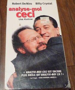 Sealed-VHS-Movie-Analyse-moi-Ceci-Lisa-Kudrow-Robert-DeNiro-Billy-Crystal