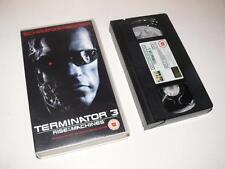 VHS Video ~ Terminator 3: Rise of the Machines ~ Schwarzenegger ~ Columbia