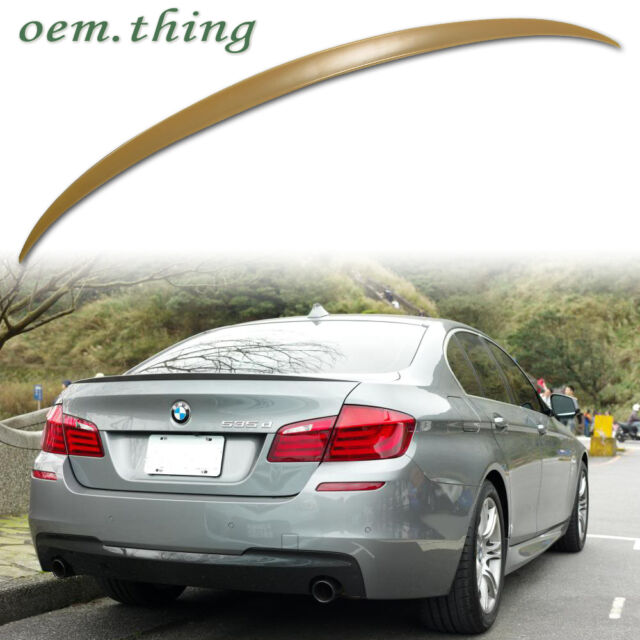 For BMW 5-Series F10 M5 TYPE BOOT REAR TRUNK LIP SPOILER