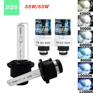 2PC-35W-55W-12V-D2S-D2C-Hid-Car-Xenon-Headlight-Replacement-Bulbs-Bright-Lamps