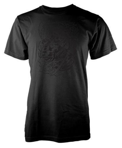 Samurai Warrior Skull Sword Adult T Shirt