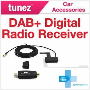 DAB+ Digital Radio Tuner Receiver USB Dongle For Tunez Android Head Unit Car OZ