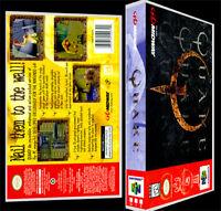 Quake - N64 Reproduction Art Case/box No Game.