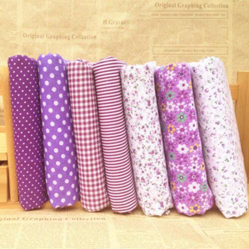 Mixed Fabrics Scraps Quilting Quilt Fabric Pre-Cut Fat Quarters 100/% Cotton Sale