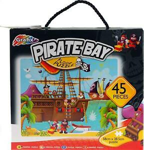 45PC-Pirate-Kids-Floor-Puzzle-Jigsaw-Childrens-Boys-Girls-Age-3-To-7-Pre-School