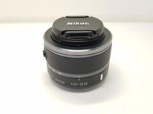 Schwarz-Nikon-1-NIKKOR-10-30-mm-F-3-5-5-6-VR-Zoom-Objektiv-v1-v2-s1-s2-J1-J2-J3
