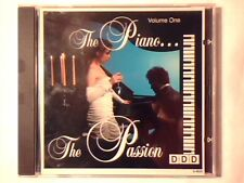 CD The piano... the passion vol. 1 cd BEETHOVEN SCHUBERT TCHAIKOVSKY MUSSORGSKY
