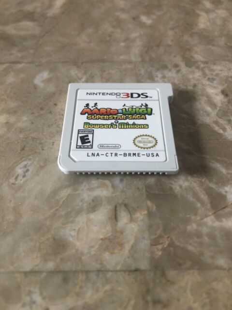 Mario & Luigi Superstar Saga + Bowser's Minions Nintendo 3DS Cartridge Only