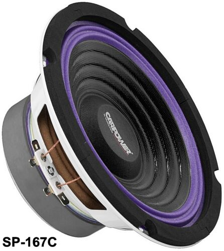 Carspeaker kick Bass Monacor sp-167c 100 wmax 4ohm 170mm 91db//w