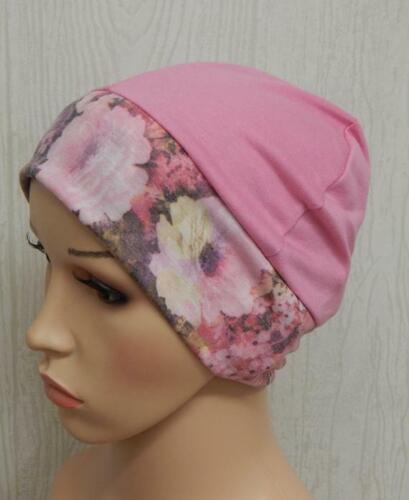 Women chemo cap stretchy hat cancer beanie chemotherapy head wear alopecia hats