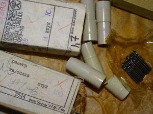 25 PCS D 1,4 mm Drills Solid Carbide VK-6M USSR