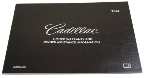 2014 Cadillac Escalade /& Escalade ESV Owners Manual Booklet W// Leather Pouch New