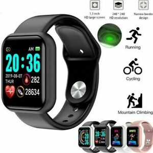 Sports Smart Watch Bluetooth Heart Rate Blood Pressure Monitor Fitness Tracker
