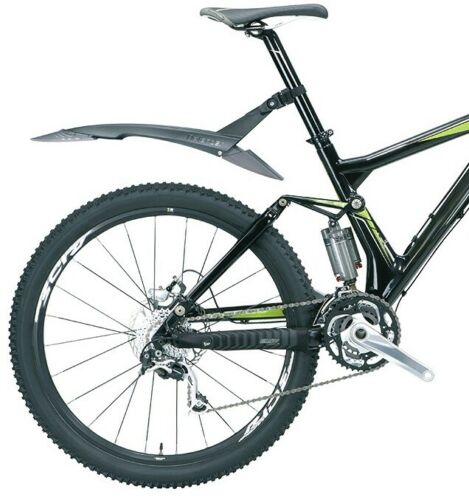 "Topeak DeFender TC9606 RX 26/"" Wheel Rear Fender Clip On Quick Release MTB Bike"