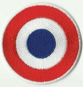 ecusson-ECUSSON-PATCHE-PATCH-THERMOCOLLANT-COCARDE-ROYAL-DIAMETRE-6-4CM