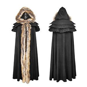 veste manteau victorien Manteau Women de Rave 6954151454448 goth noir Punk unisexe d'hiver de veste de zOqwErOa