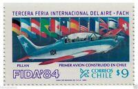 Chile 1984 #1080 Tercera Feria Internacional del Aire FIDA´84 MNH