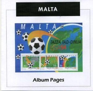 Malta-CD-Rom-Stamp-Album-1860-2017-Color-Illustrated-Album-Pages