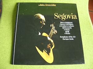 LP-SEGOVIA-BOCCHERINI-GIULIANI-SOR-Guitare-mca-202976-1980