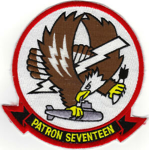 Details about VP-17 (US Navy Squadron Patch) (from squadron 1980's)