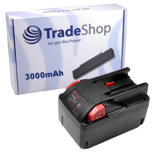 AKKU 28V 3000mAh Li-Ion Battery für AEG Milwaukee V28VC 0719-22 V28 0721-21 28V