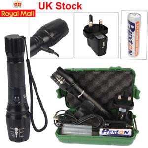 20000lm-X800-Shadowhawk-USB-Flashlight-XM-L-T6-LED-Torch-Battery-Mount-Charger