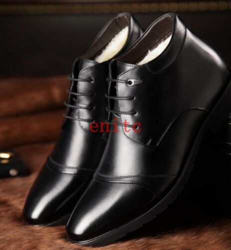 Chaud Haut Top Chaussures À Lacets Causal Business Homme Bottines élégant ** NOUVEAU