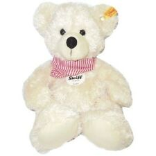 Steiff 117510 Lotte Teddy Bear Cream Red Striped Bandana