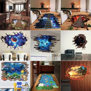 3D-Bridge-Floor-Wall-Sticker-Removable-Mural-Decals-Vinyl-Art-Living-Room-Decor