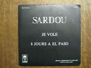 MICHEL-SARDOU-45-TOURS-FRANCE-PROMO-JE-VOLE-2