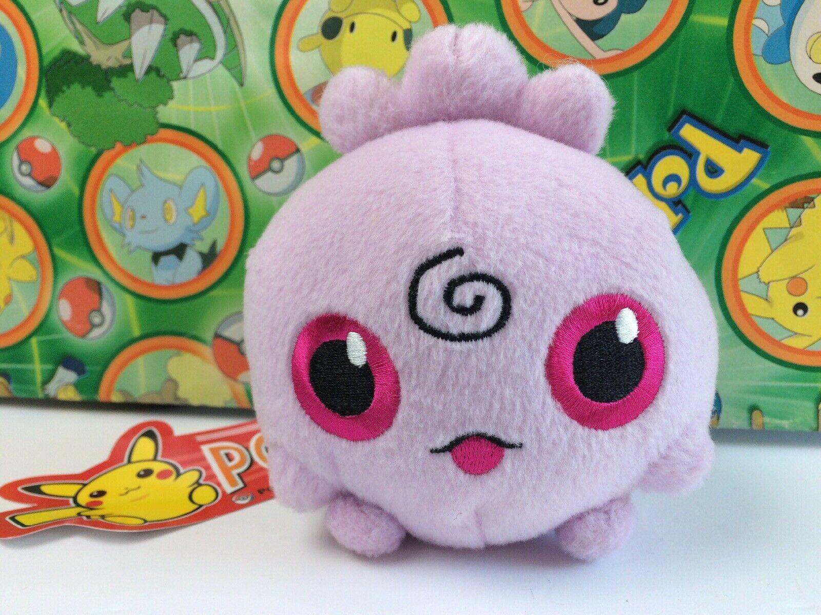 Pokey Center Plush Pokesdocka Igglybuff Doll uppstoppad figur leksak USA Seller