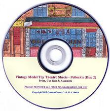 ☆ POLLOCKS PAPER MODEL TOY THEATRE SHEETS ☆ RESTORED ORIGINALS ☆ Vols4-6 Disc ☆