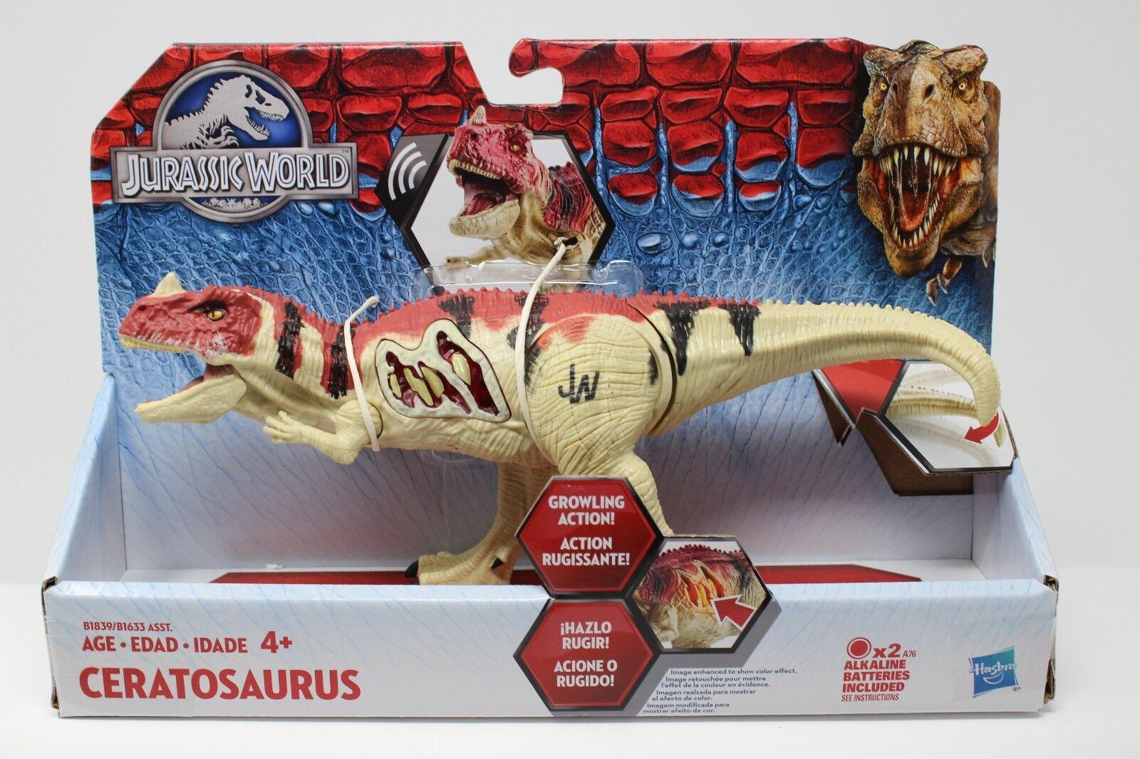 welt ceratosaurus actionfigur hasbro