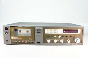 Uher-CG-355-Stereo-Kassettendeck-Tapedeck-Auto-Reverse-Neuwertig-Generalueberholt