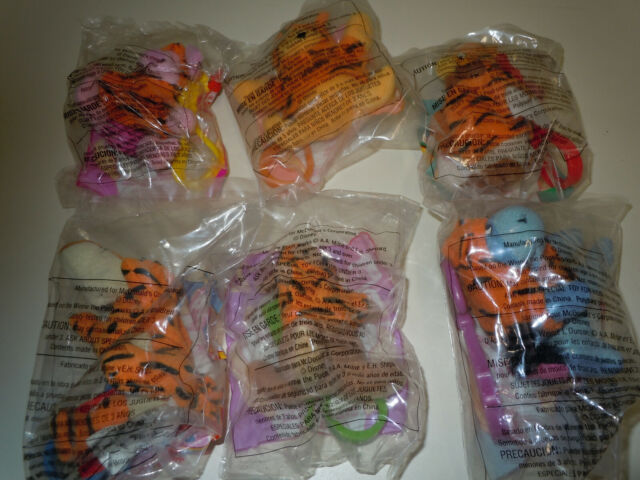 mcdonalds happy meal toys 2000 Tigger Movie Clips (6) complete set MIP