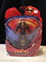Mattel 2013 Superman Man Of Steel Movie Masters Jor-el 6 Action Figure